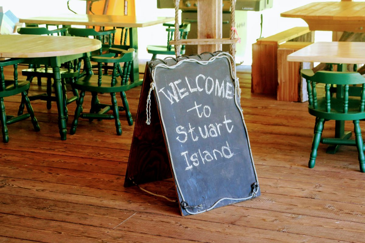 Welcome to Stuart Island