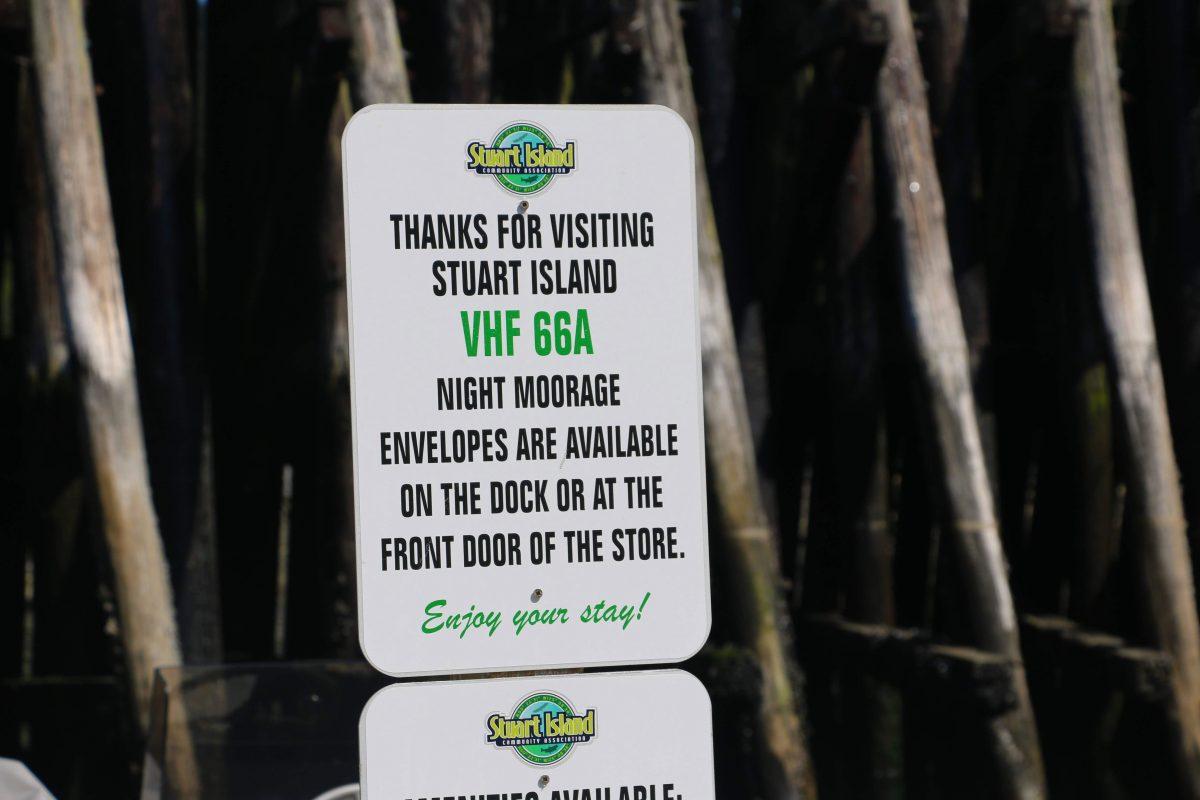 Thanks for visiting Stuart Island