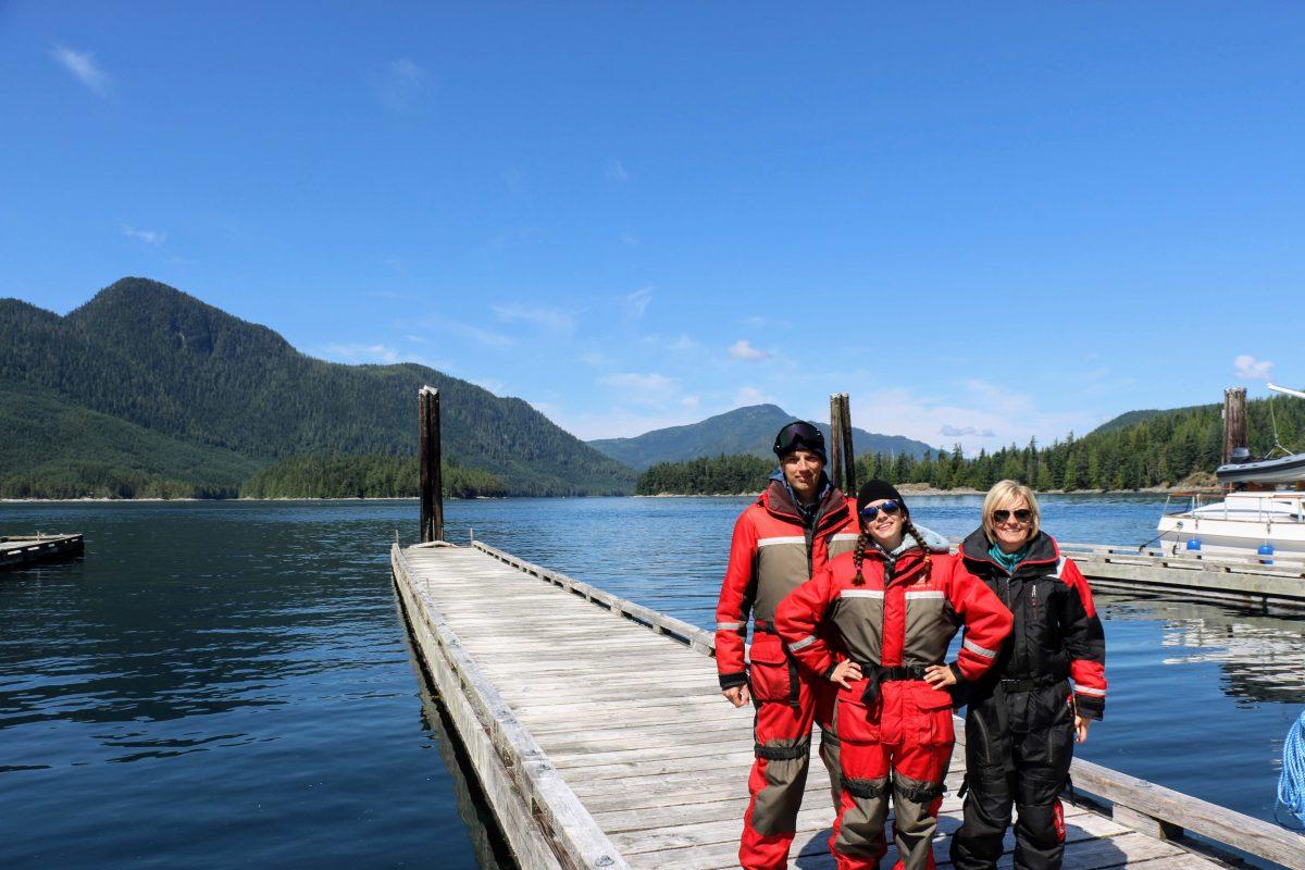 Walvissen toch Campbell River Canada