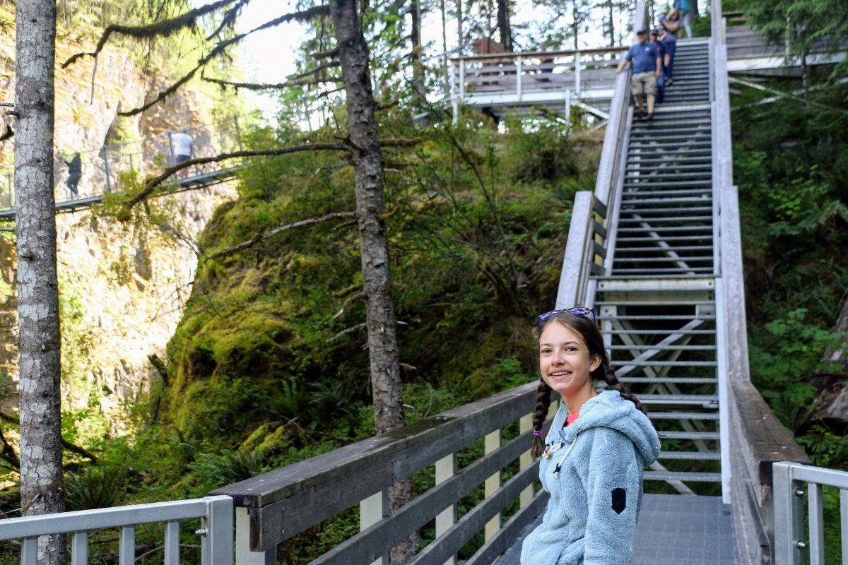 Uitkijkplatform Elk Falls
