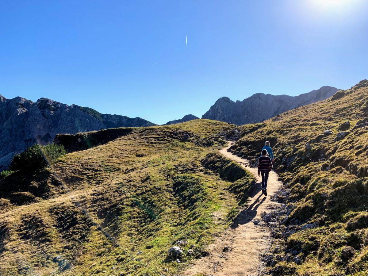 Wandeling naar Gappenfeldalm in het Tannheimer Tal