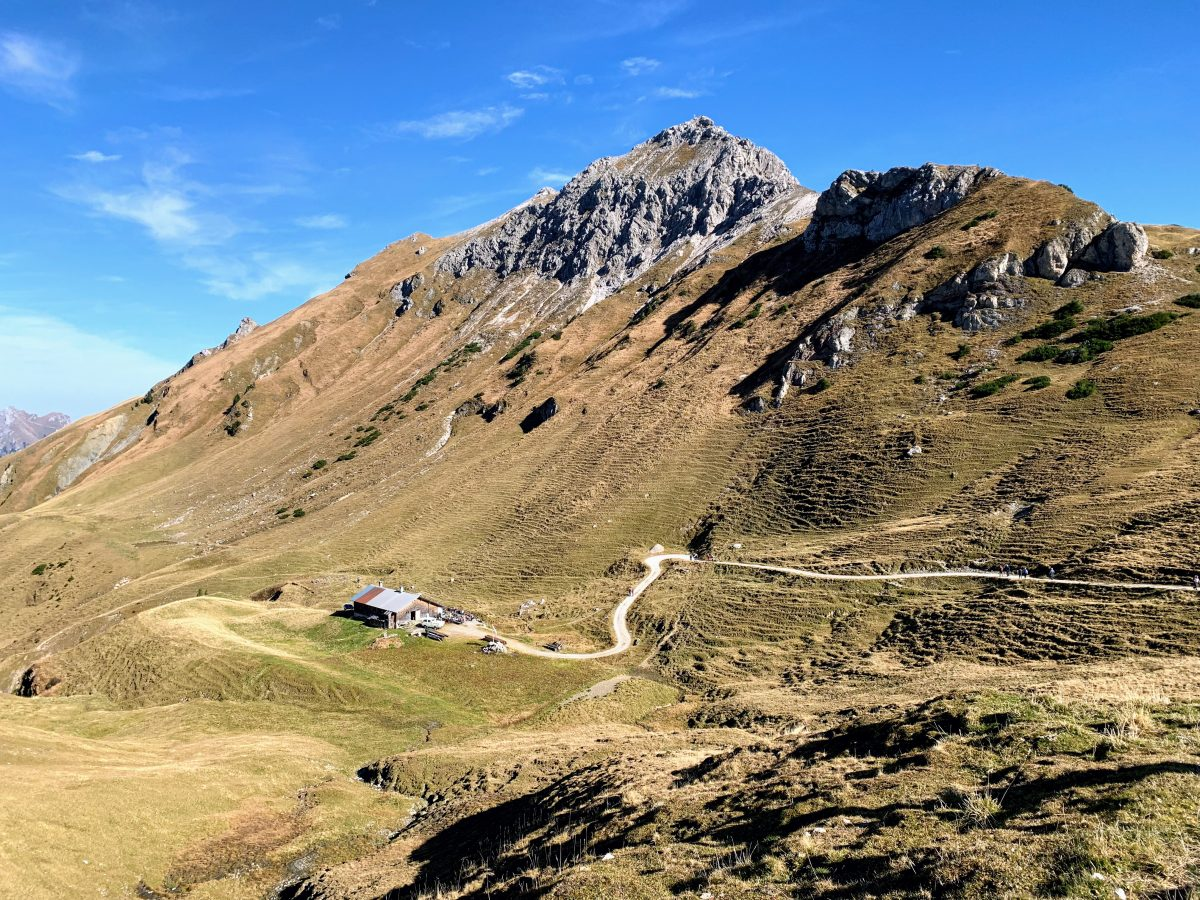 De Gappenfeldalm in het Tannheimer Tal