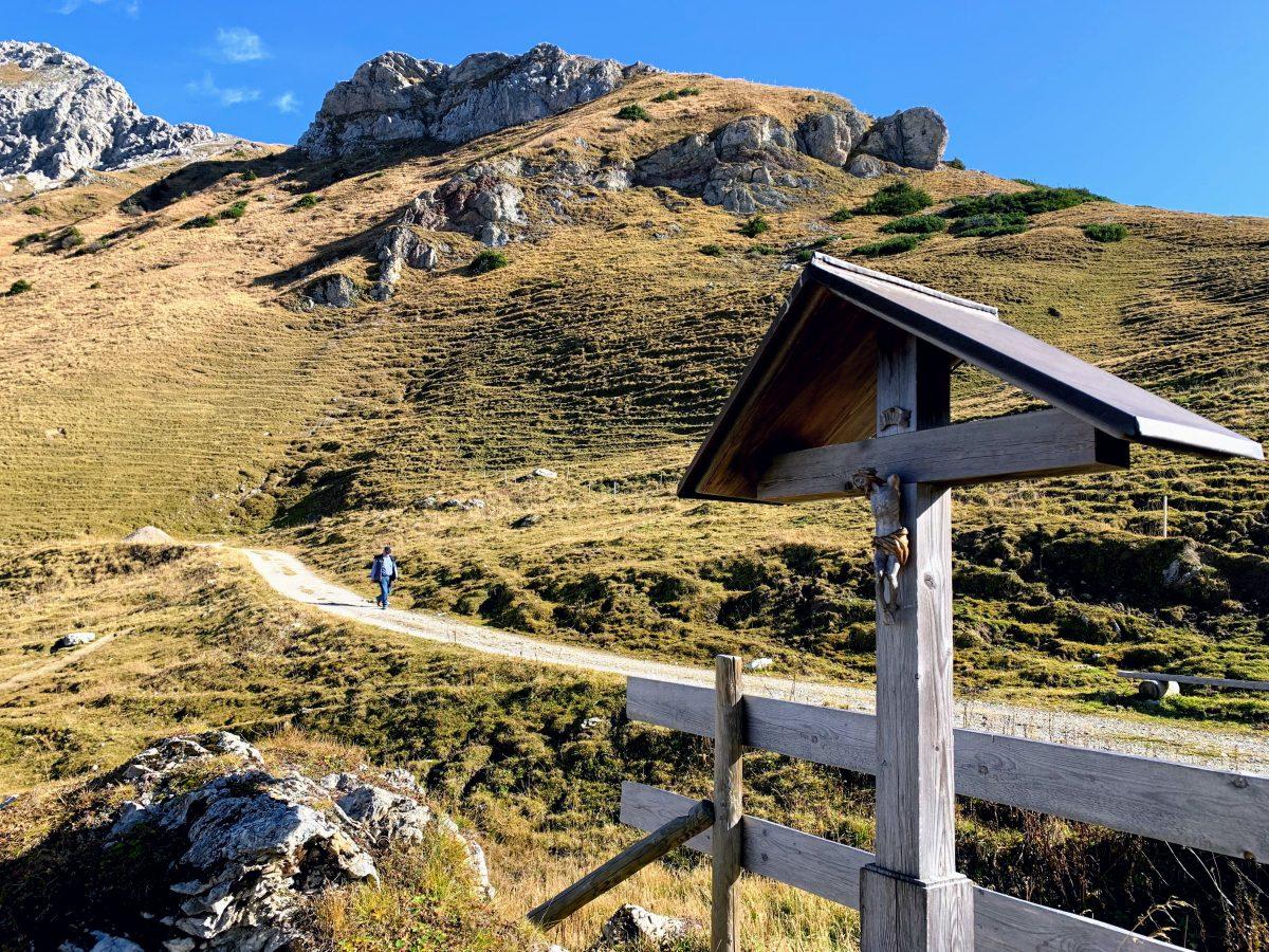 Wandelroute naar de Gappenfeldalm