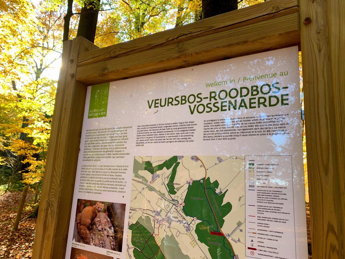 Veursbos - Roodbos - Vossenaerde
