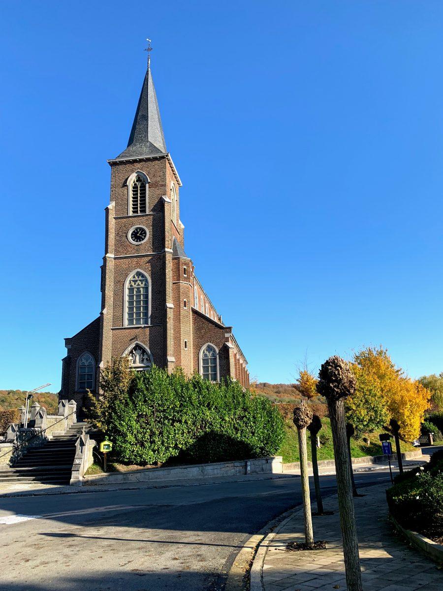De kerk in Teuven