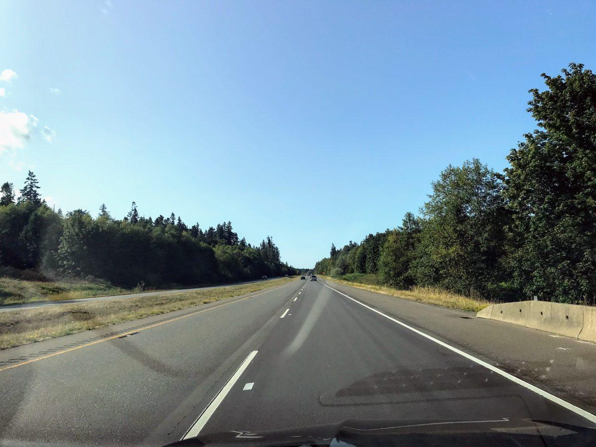 Inland Island Highway Vancouver Island