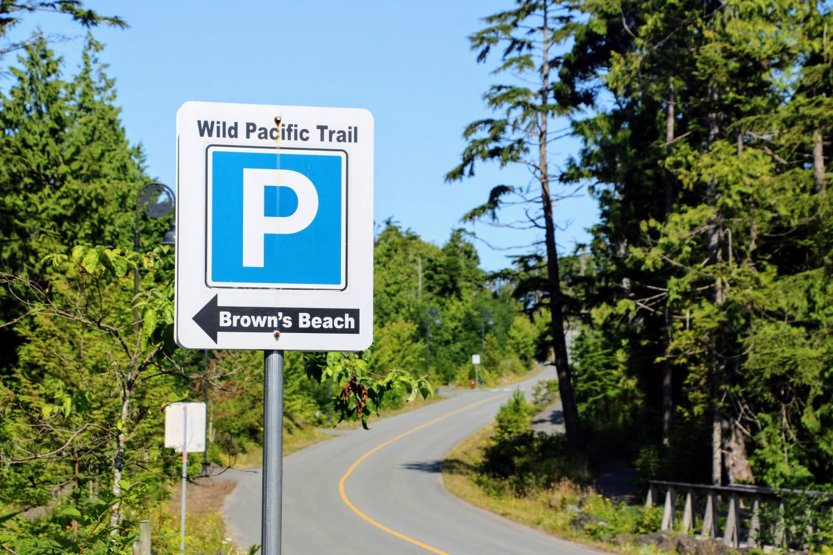 Wild Pacific Trail Parking - reisverslag Ucluelet