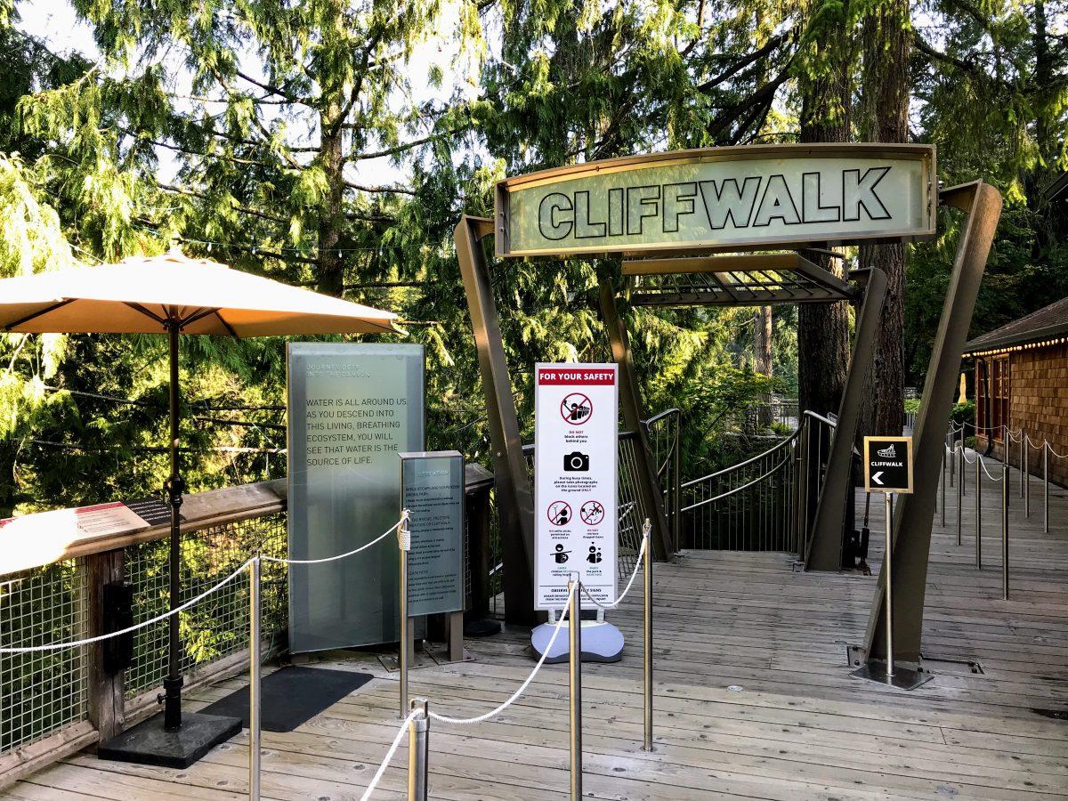 Cliffwalk inkom