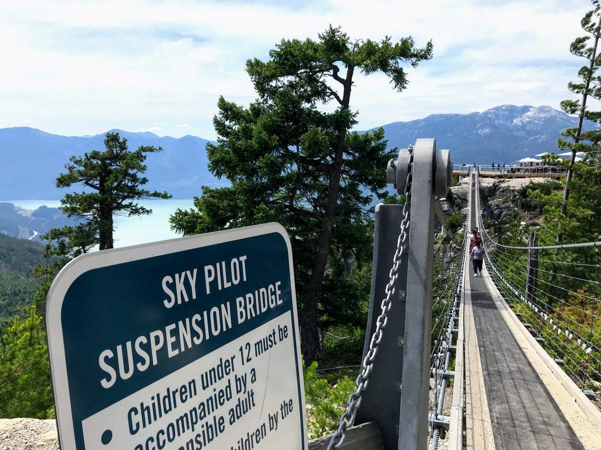 Sky Pilot Suspension Bridge