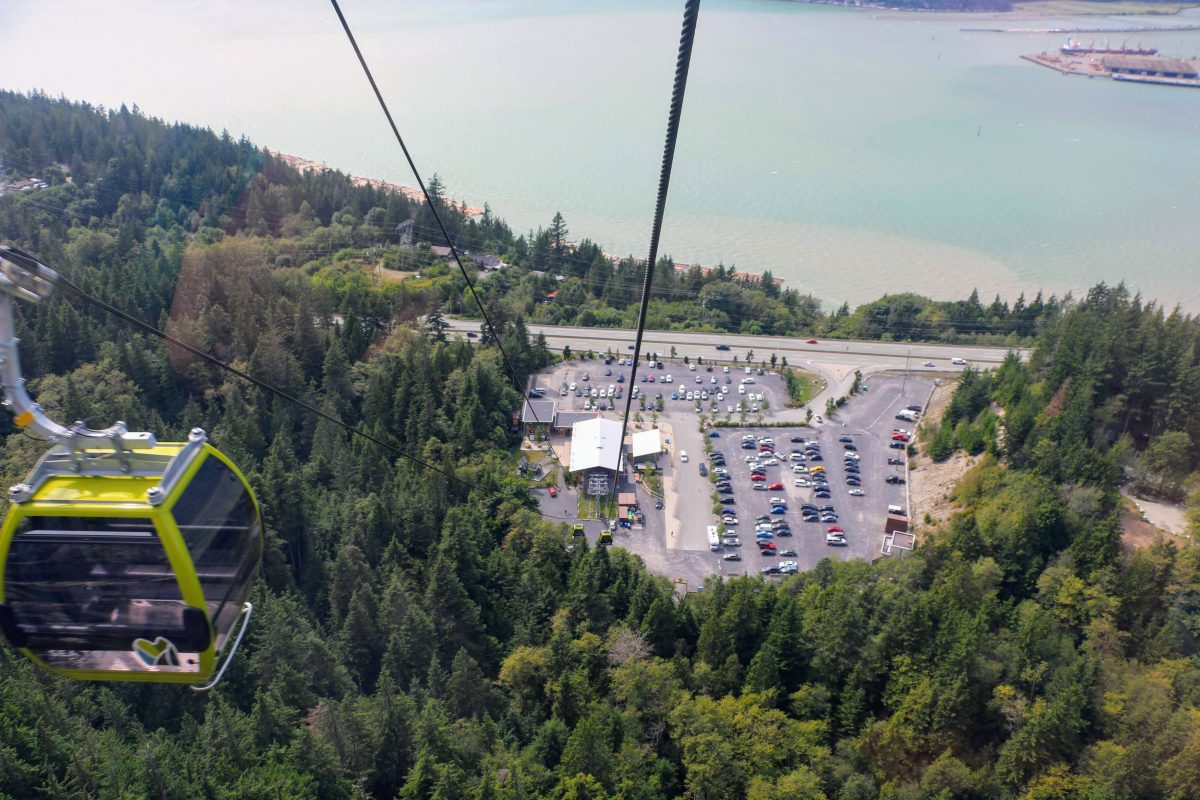 Sea to Sky Gondola parking