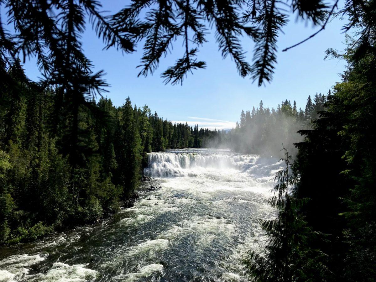 Dawson Falls Canada