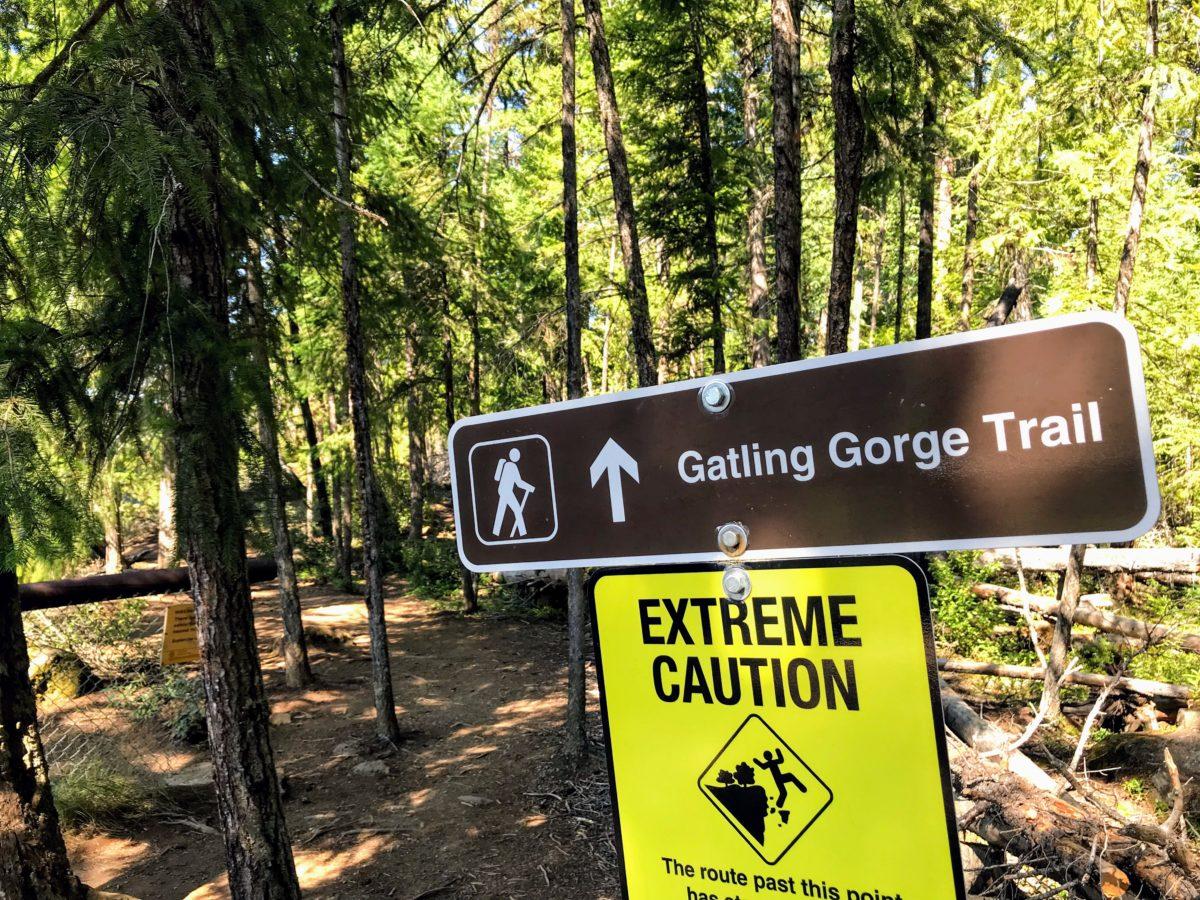 Gatling Gorge Trail