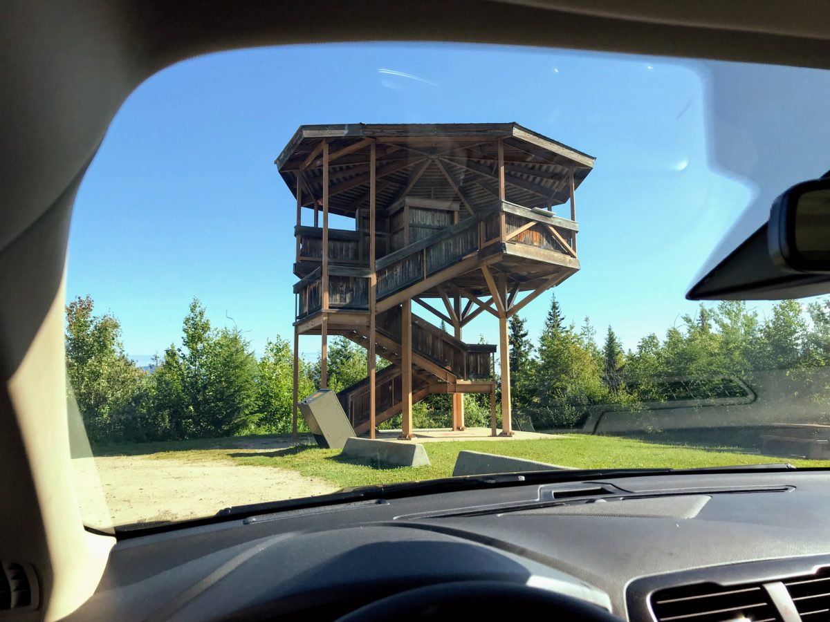 Green mountain viewing tower wells gray park
