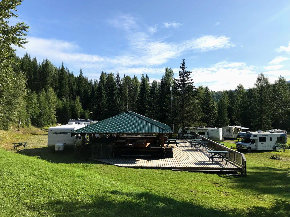 Helmcken Falls Lodge camper