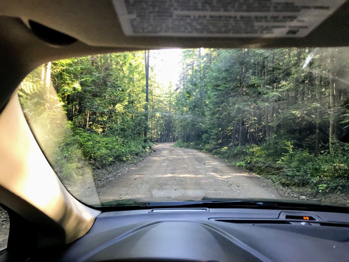 Route naar de Green Mountain viewing Tower