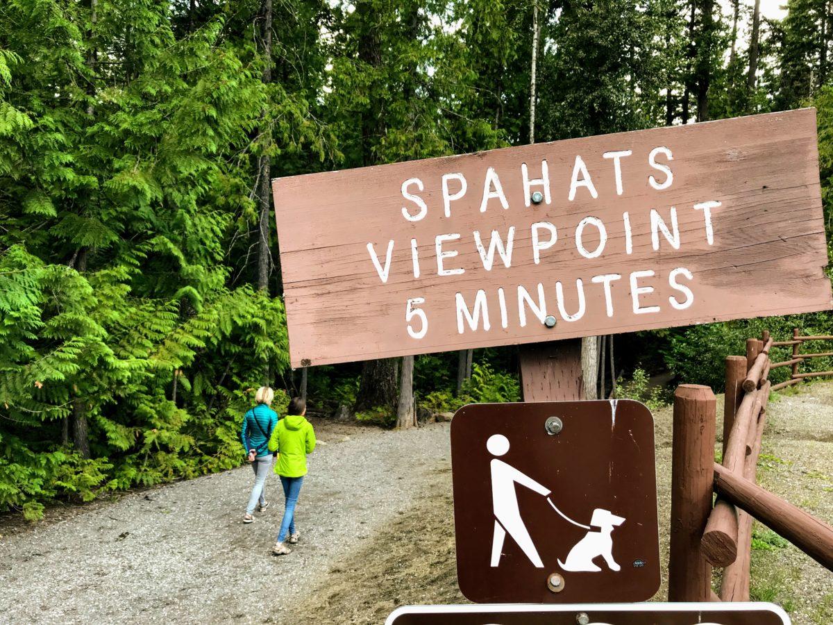 Spahats Falls Viewpoint