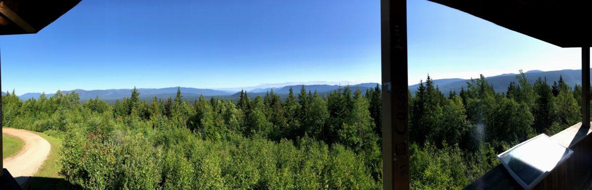 Uitkijktoren Wells Gray Provincial Park
