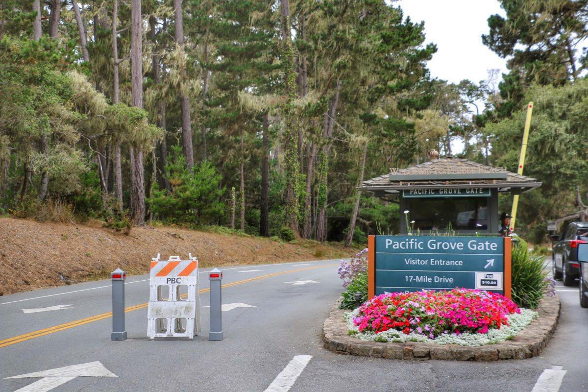 Pacific Grove Gate 17-mile drive