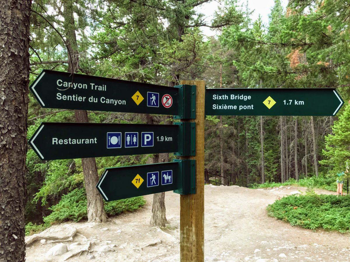 Canyon Trail Maligne Canyon
