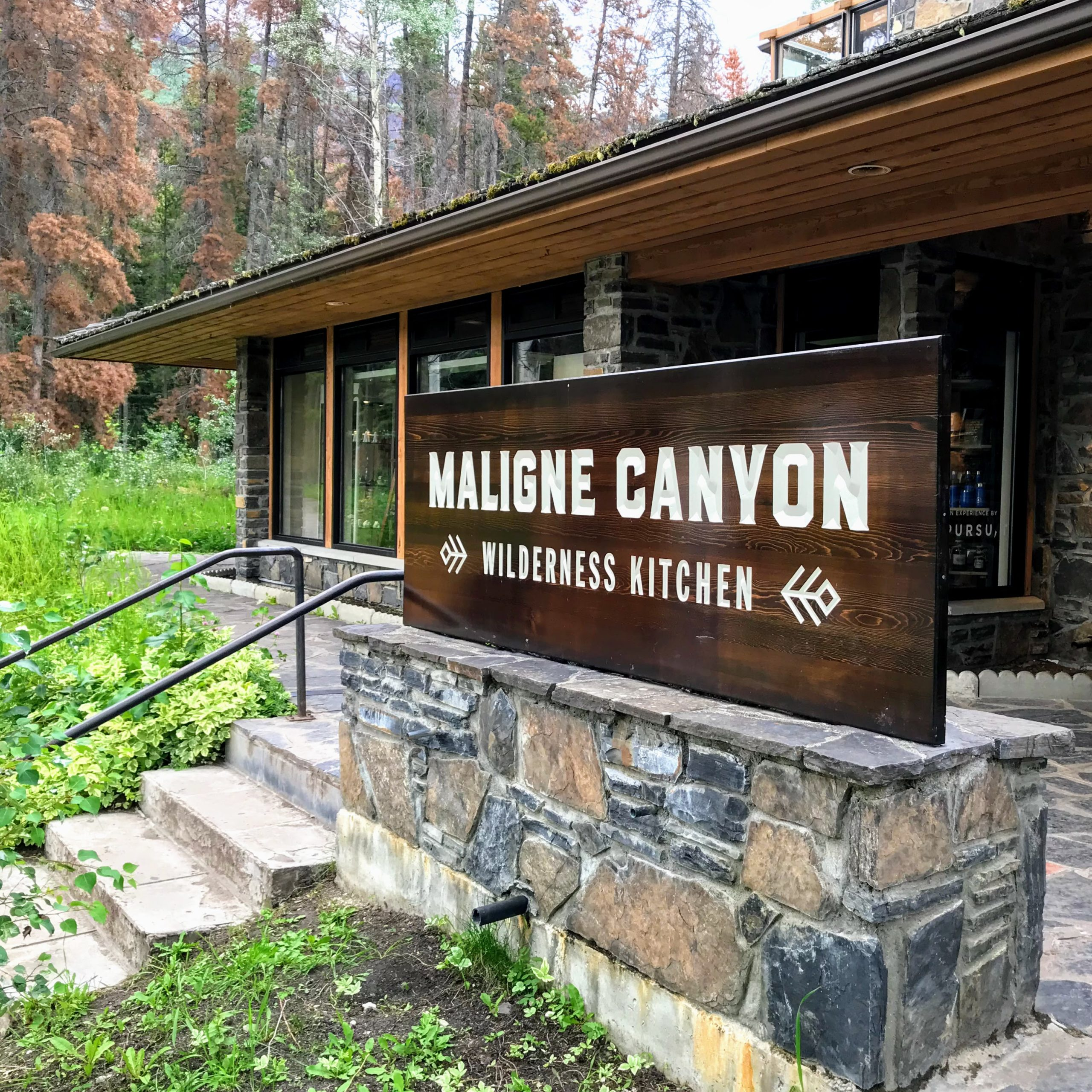 Maligne Canyon Wilderness Kitchen