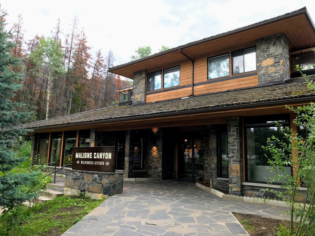 Maligne Canyon Wilderness Kitchen