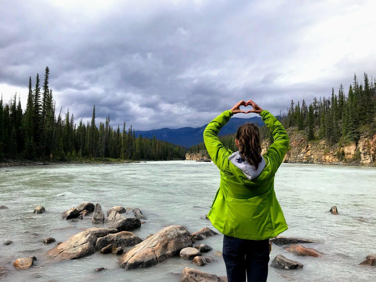 Reisverslag Athabasca Falls Jasper National Park