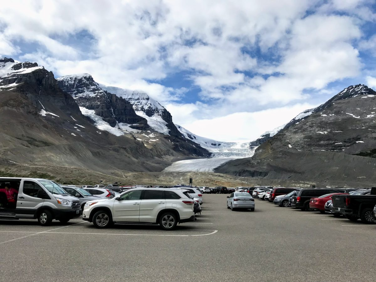 Columbia Icefield Parking