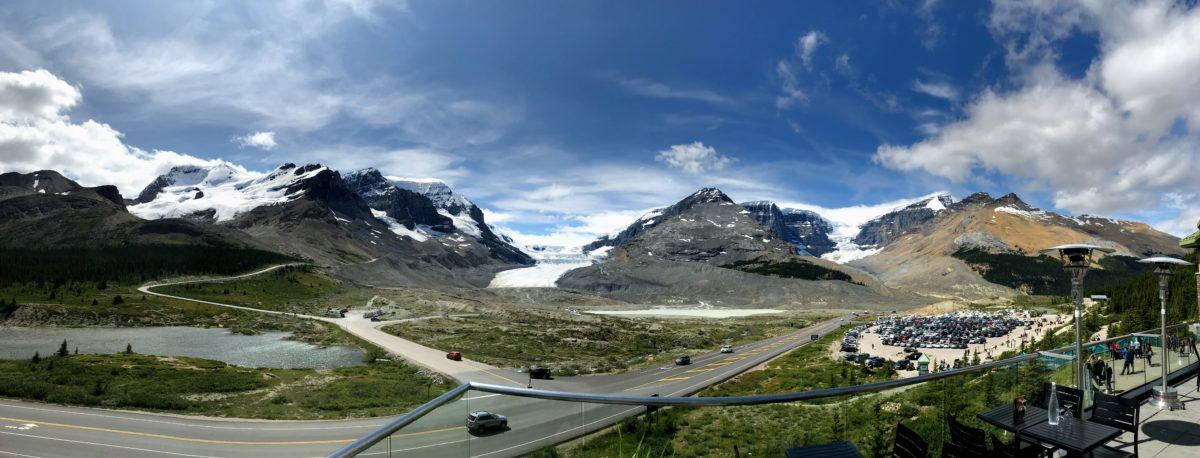 Columbia Icefield bezoekerscentrum