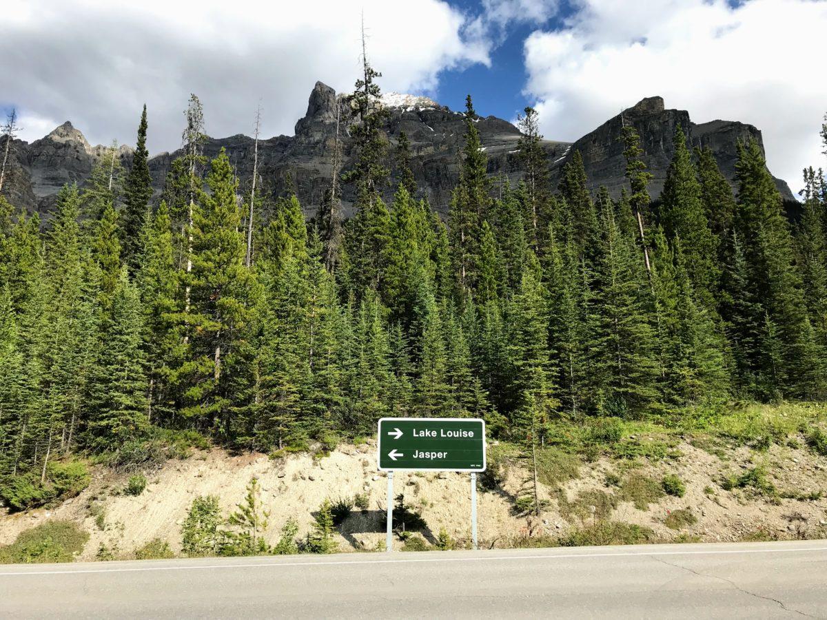 Icefields Parkway - van Jasper naar Lake Louise