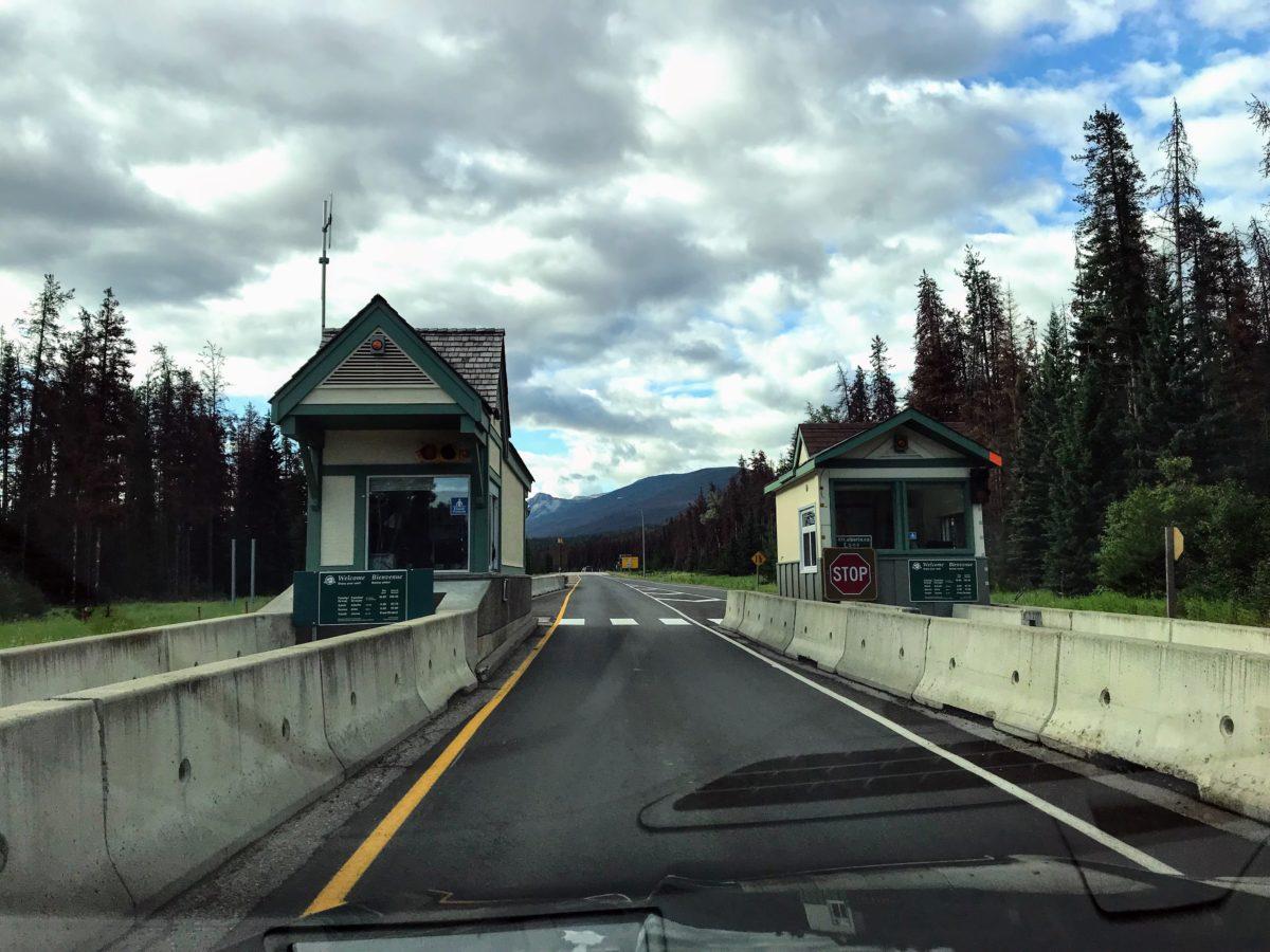 Ingang Jasper National Park