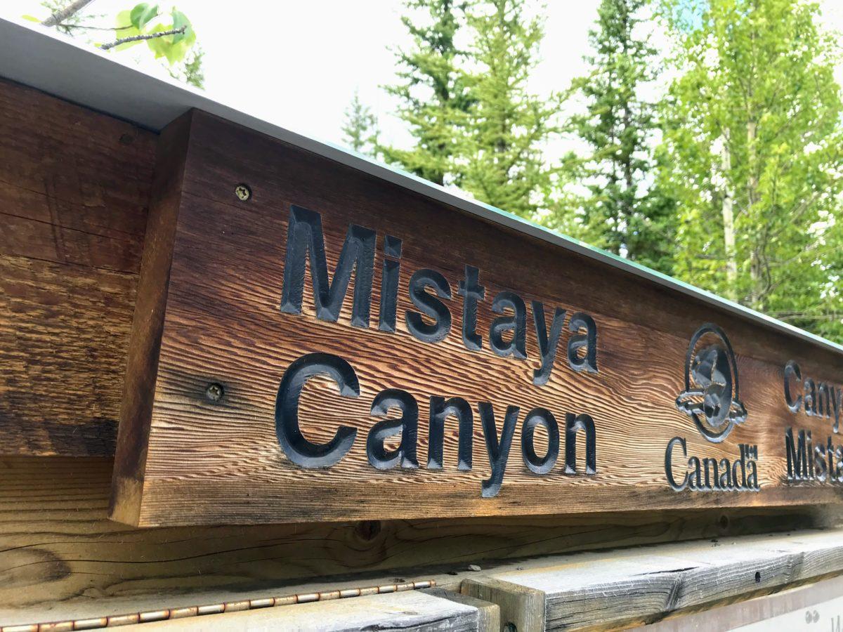 Mistaya Canyon Canada