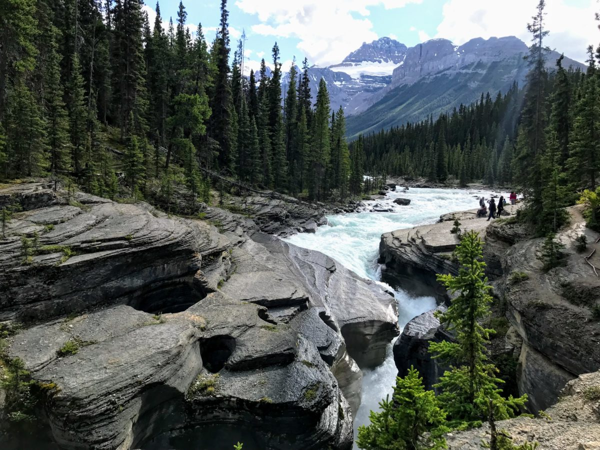 Mistaya Canyon Icefields Parkway