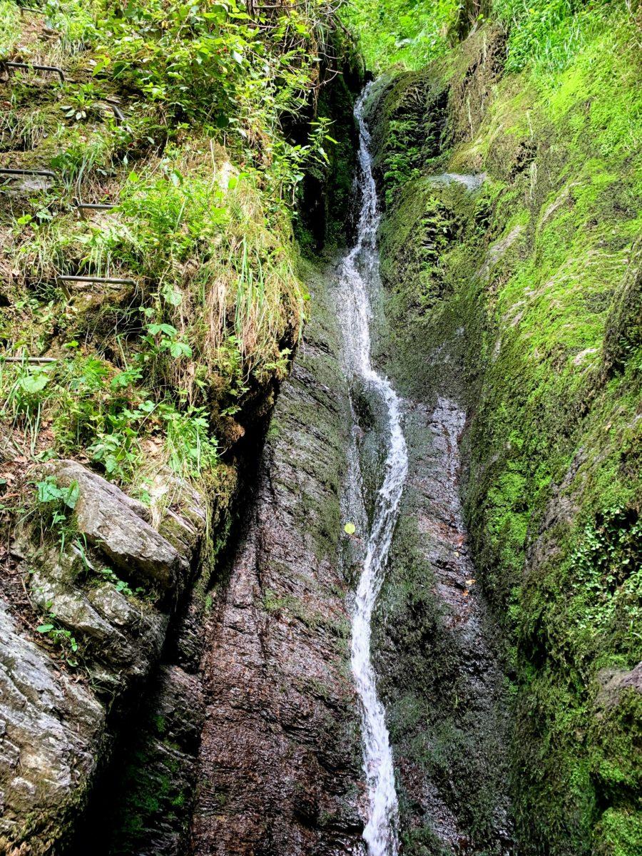 de hoogste waterval van België