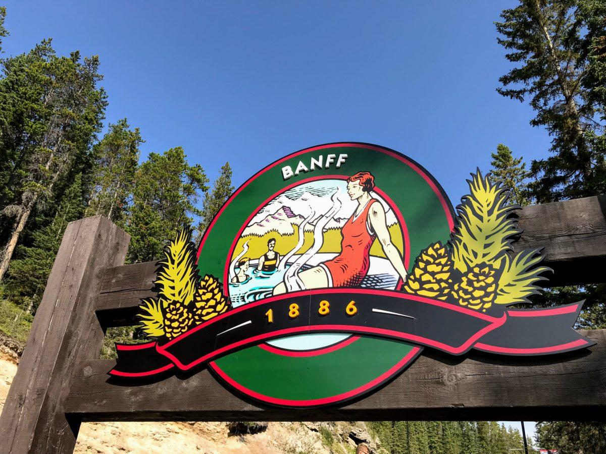 Banff Upper Hot Springs 1886