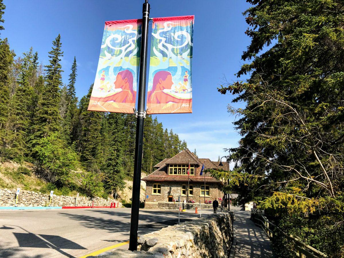 Banff Upper Hot Springs - inkom