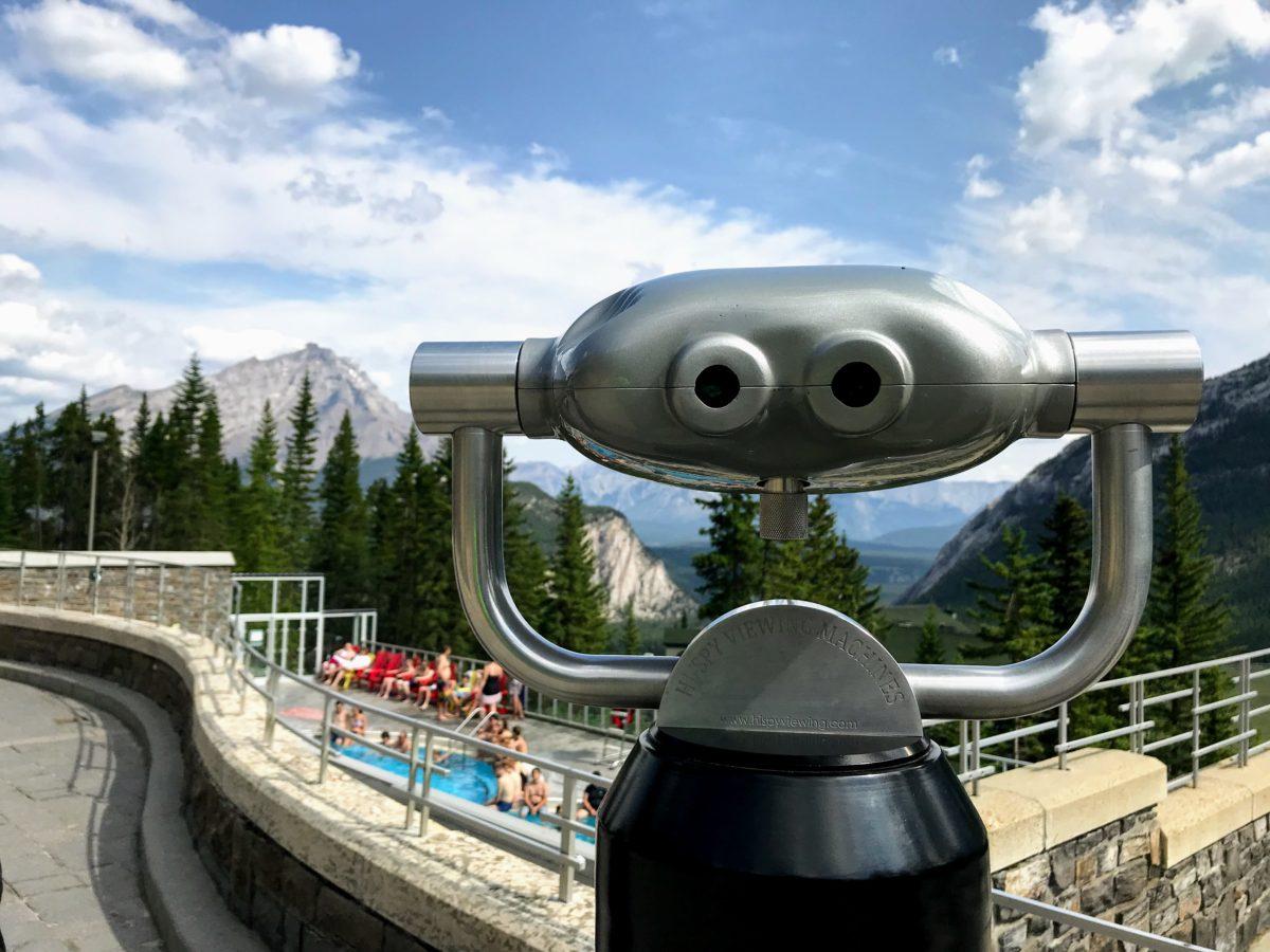 Uitzicht Banff