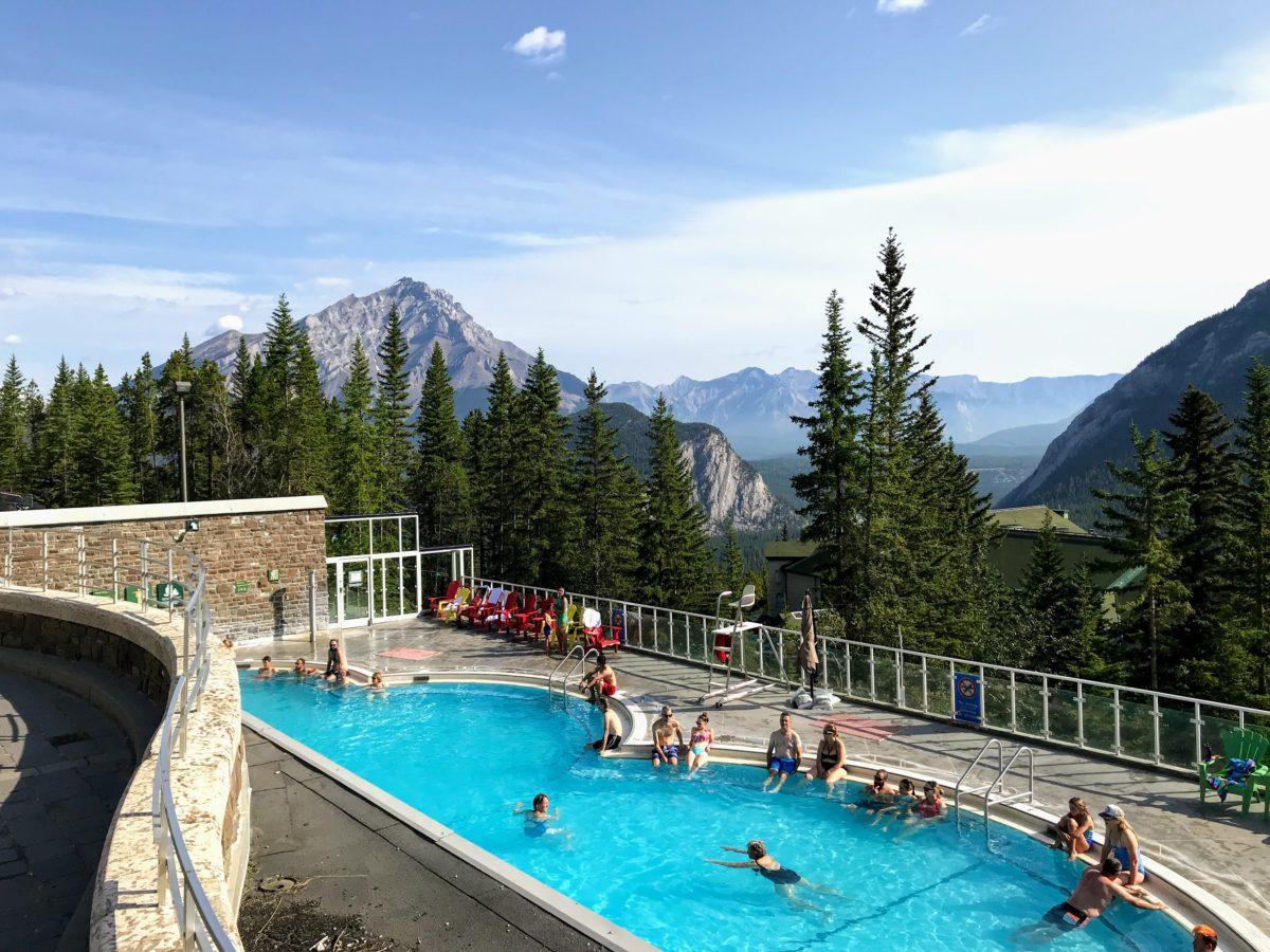 Banff Upper Hot Springs - zwembad