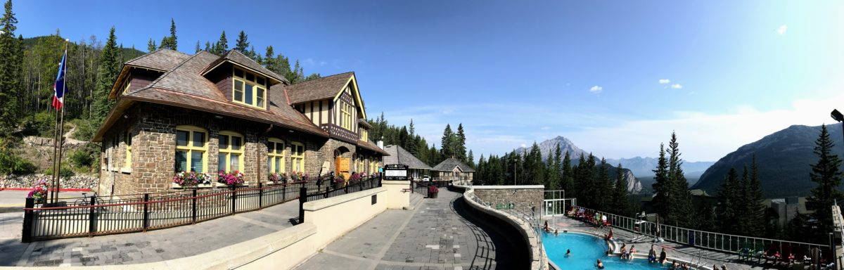 Warmwaterbronnen Banff zwemmen