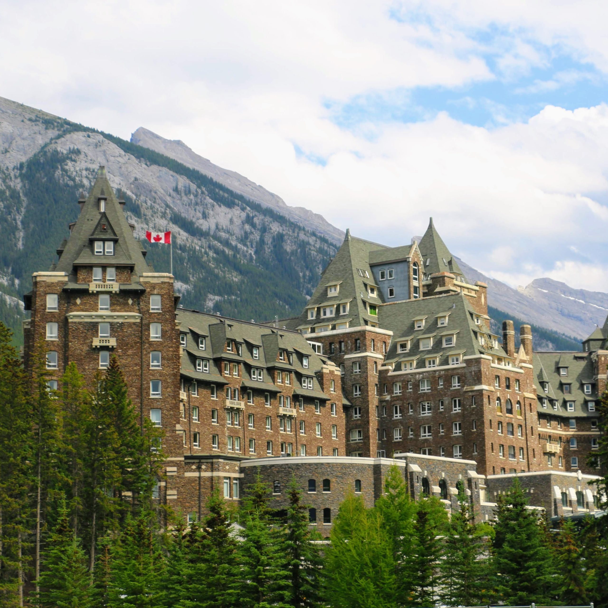Een spookhotel in Canada - Fairmont Banff Springs
