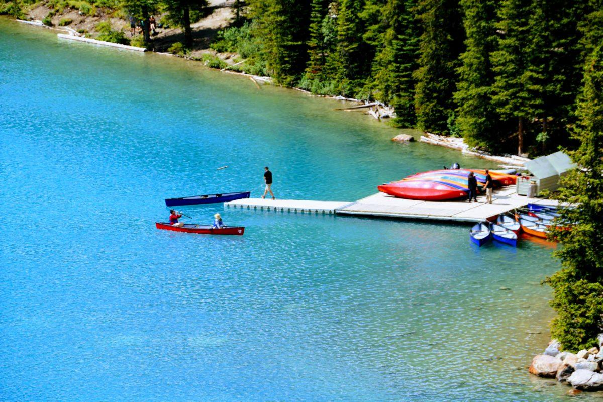 Moraine Lake kano verhuur