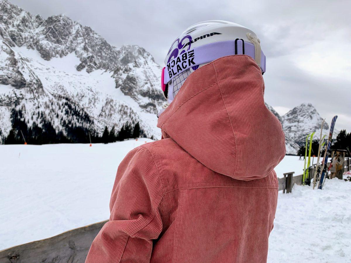 Protest ski jas dames roze