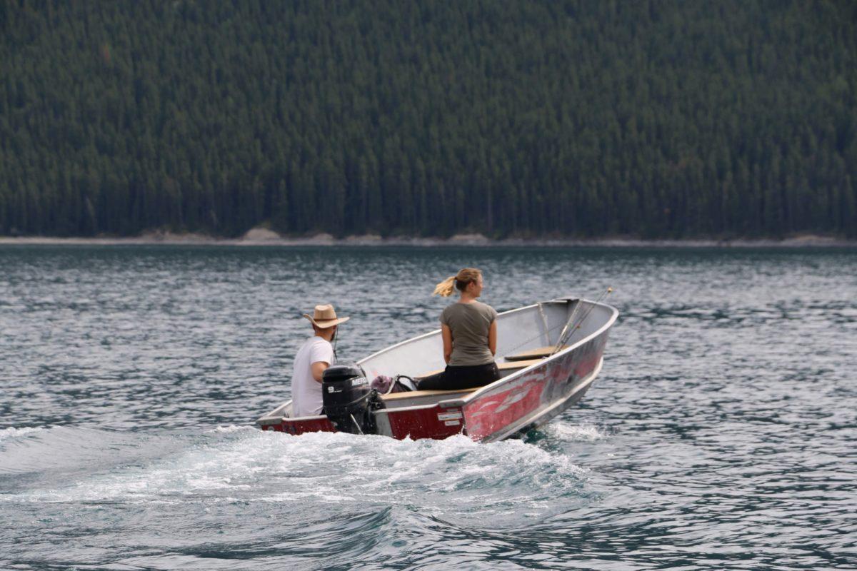 Lake Minnewanka boot