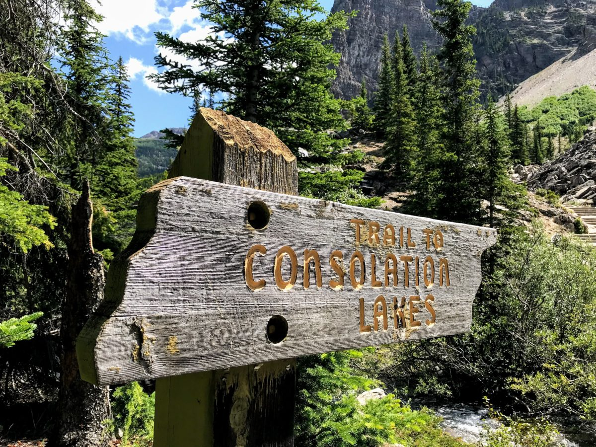 Trail To Consolation Lakes