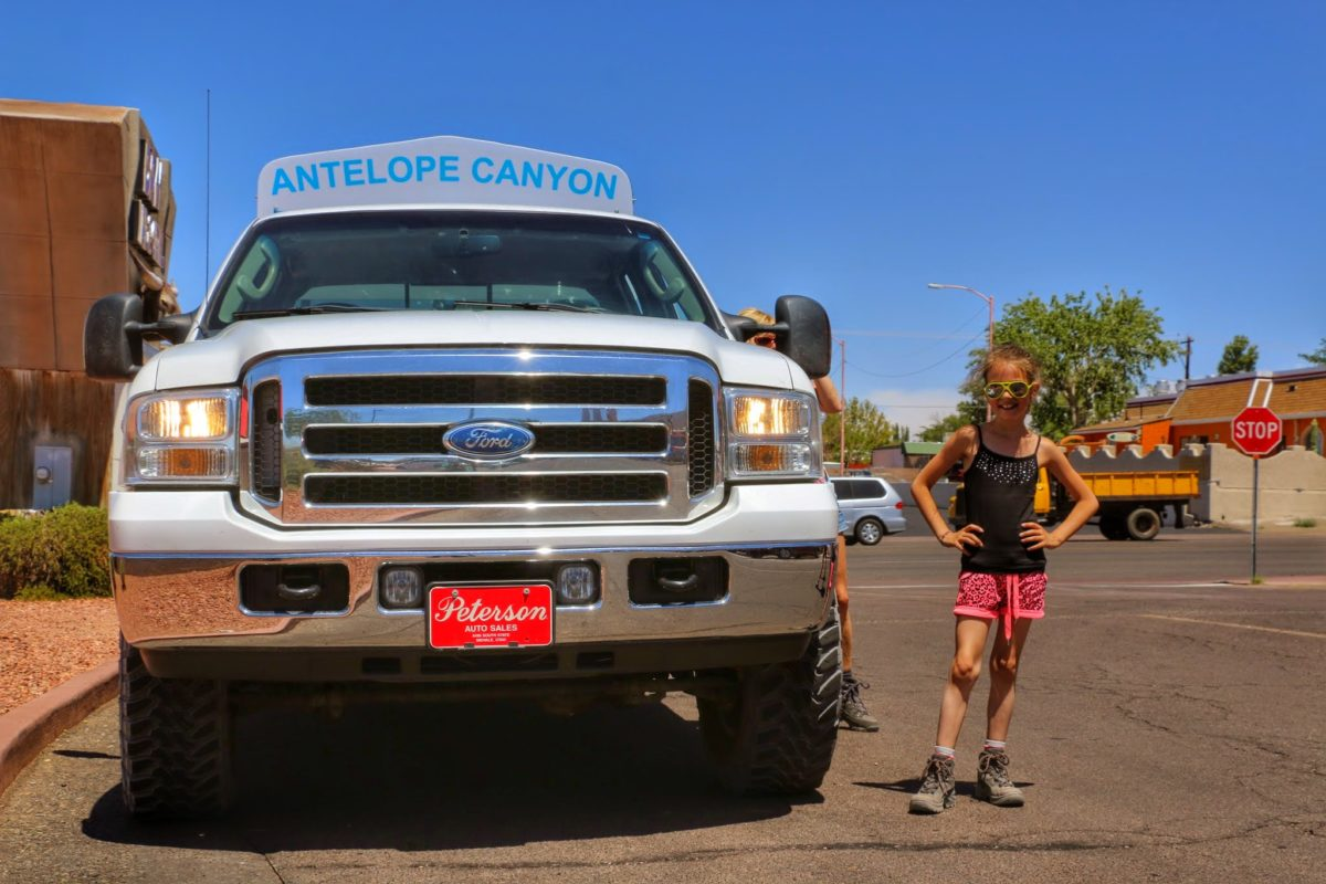 Antelope Canyon Tours Jeep