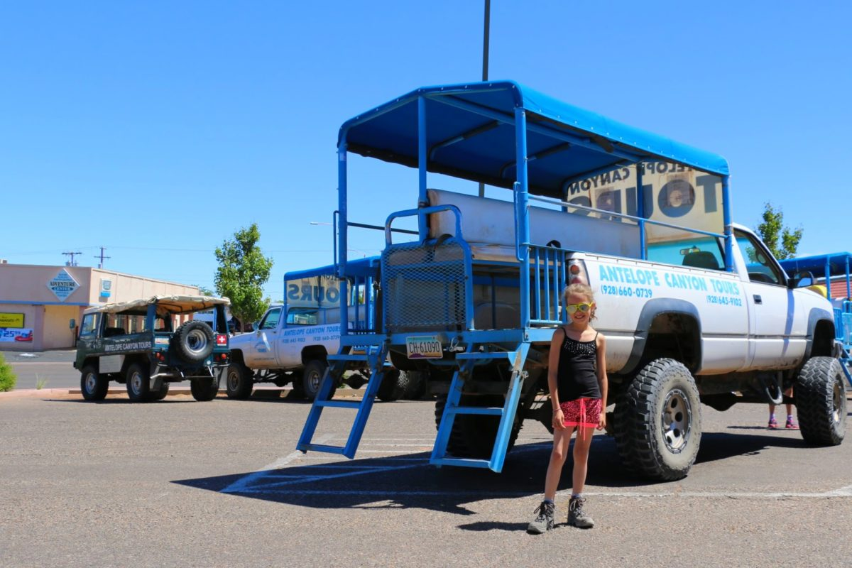 Antelope Canyon Tours Truck