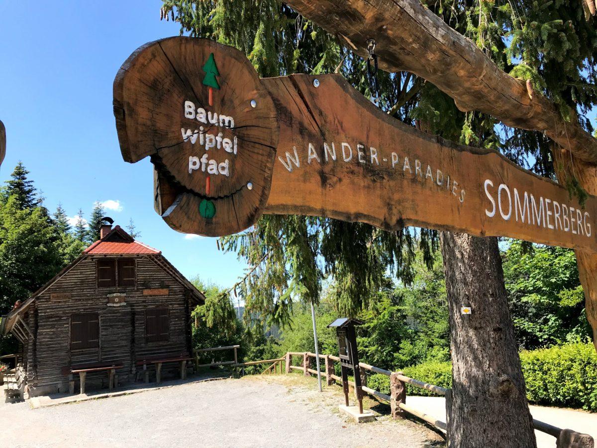 Baumwipfelpfad wande-paradies Sommerberg