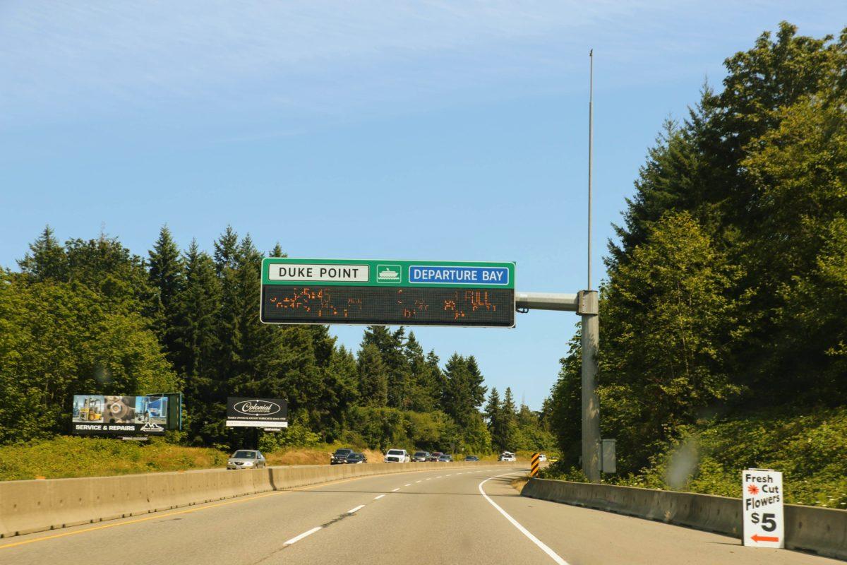 Reisverslag North Vancouver - Duke Point Departure Bay