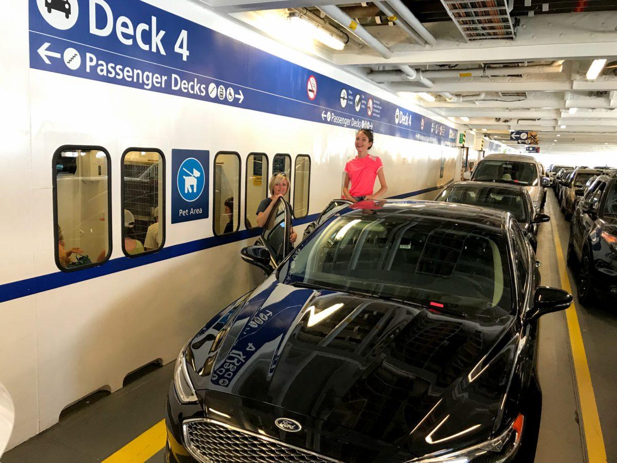 Deck 4 Passenger Decks BC Ferries
