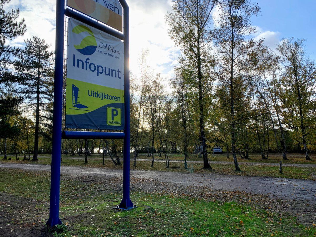 Infopunt de Wijers & parkeerplaats uitkijktoren