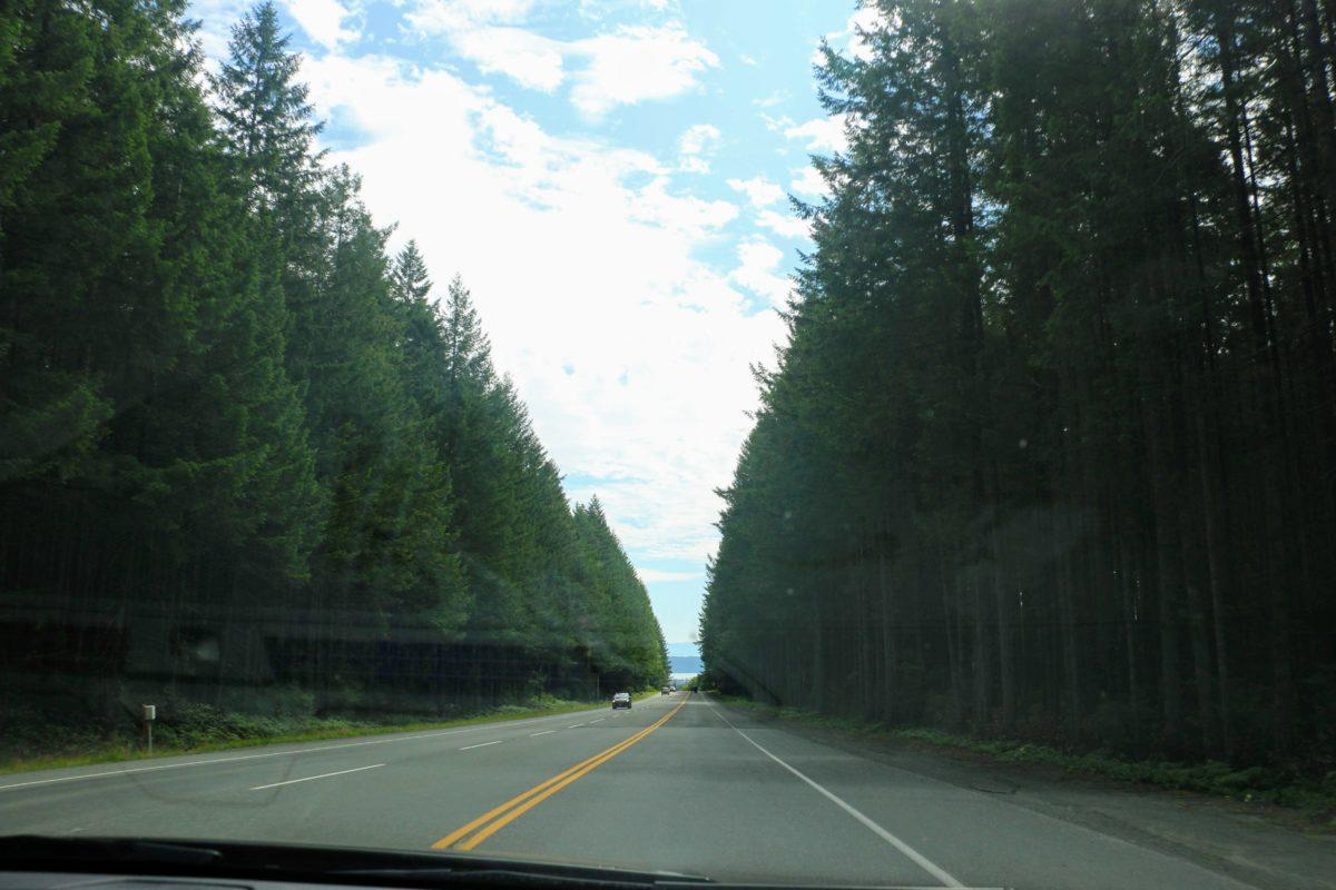 Route naar Elk Falls